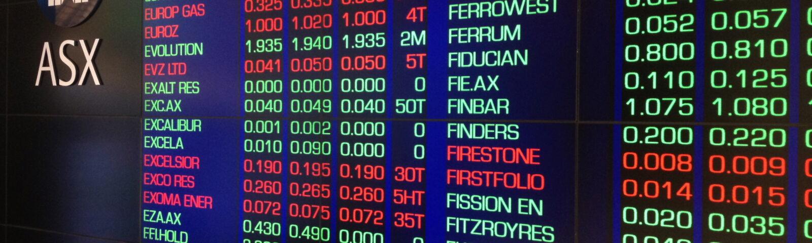 מגעים בין הבורסות של אוסטרליה וישראל להסדר רישום כפול
